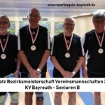 Senioren B holen oberfränkischen Mannschaftstitel und fahren zur Bayerischen