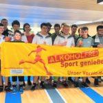 "Keglerjugend unterstützt Aktion ""Alkoholfrei Sport genießen!"""