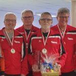 Gold und zweimal Silber für Bayreuths Seniorenkegler